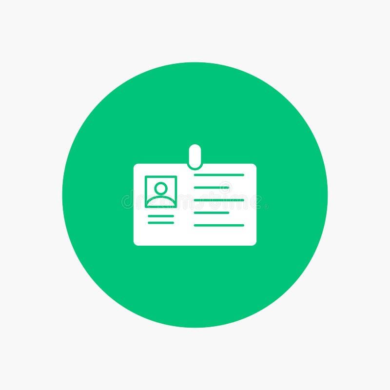 Tarjeta, negocio, corporativo, identificación, tarjeta de la identificación, identidad, paso libre illustration