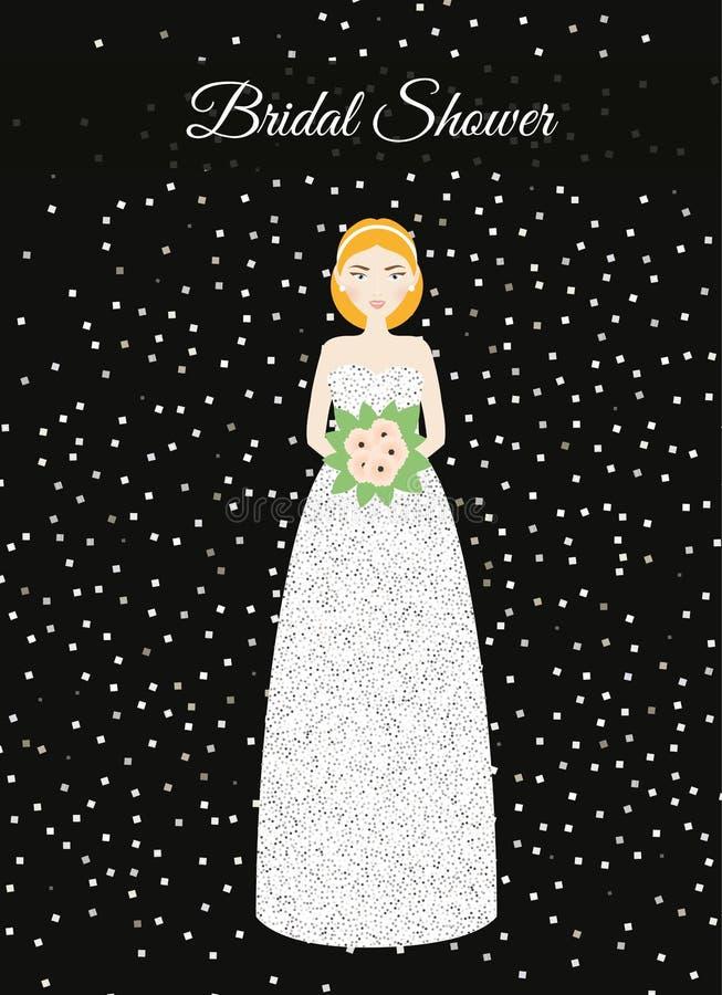 Lujo Vestido De Boda Ducha Para La Novia Ideas Ornamento Elaboración ...