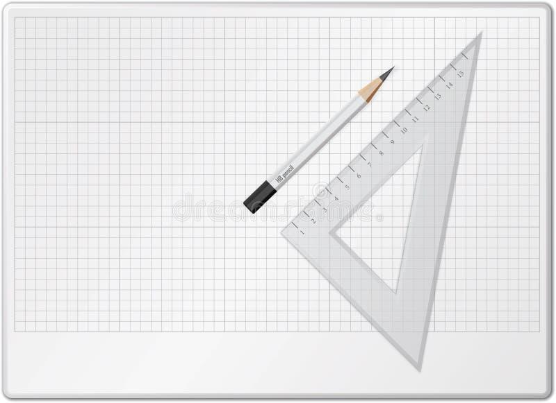 Tarjeta para el gráfico libre illustration