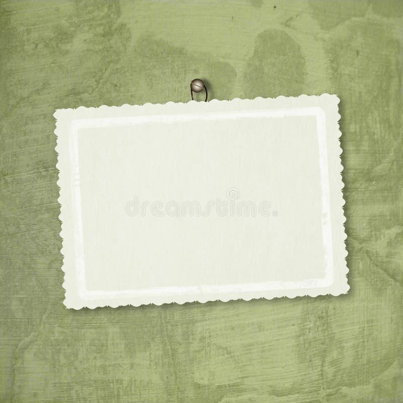 Tarjeta para el saludo o la enhorabuena imágenes de archivo libres de regalías