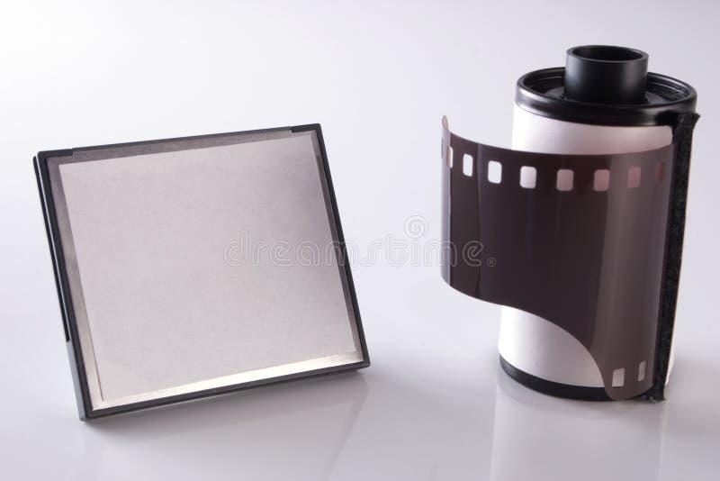 Tarjeta/película fotografía de archivo