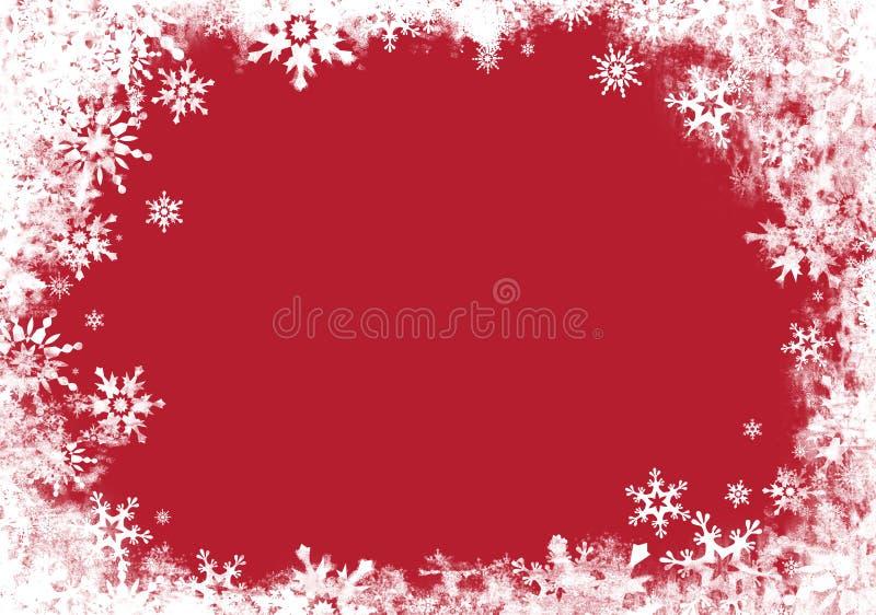 Tarjeta roja con la frontera imagen de archivo libre de regalías