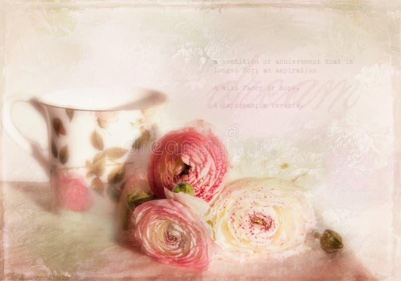 Tarjeta romántica. fotos de archivo libres de regalías