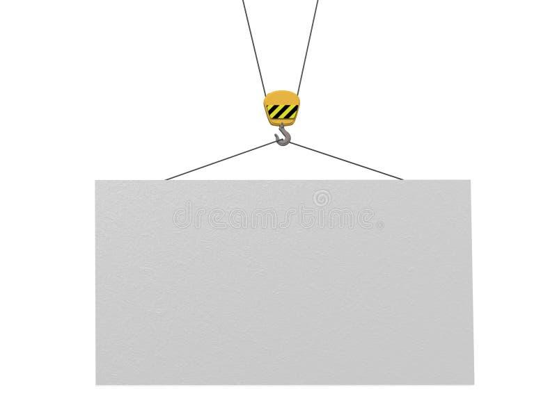 Tarjeta vacía stock de ilustración