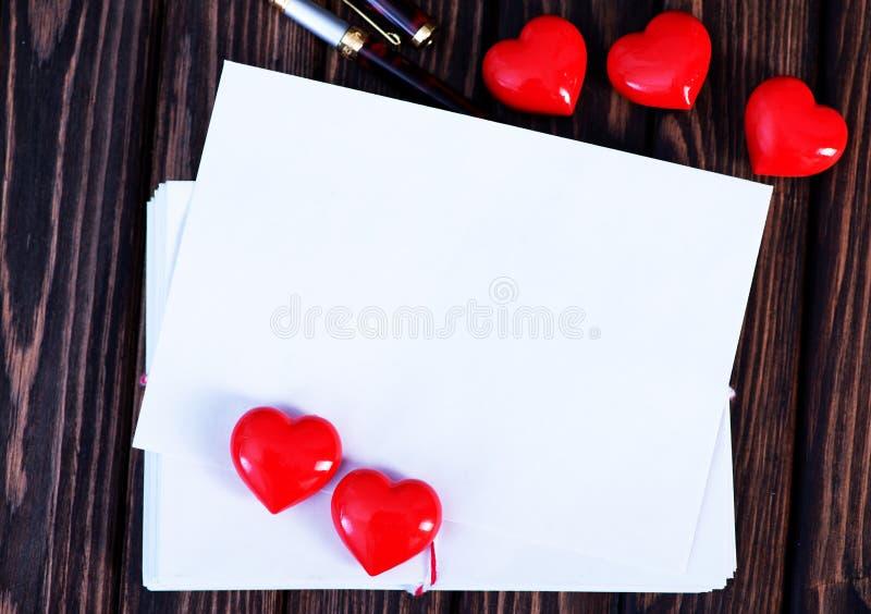 Download Tarjeta Vacía De La Tarjeta Del Día De San Valentín Del Copyspace Imagen de archivo - Imagen de blank, invitación: 64201855