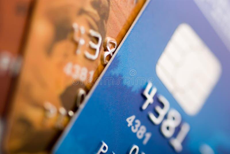 Tarjetas de crédito foto de archivo
