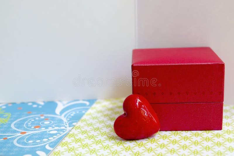 Tarjetas de felicitación del amor foto de archivo