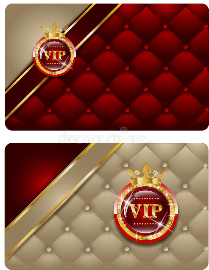 Tarjetas del Vip libre illustration