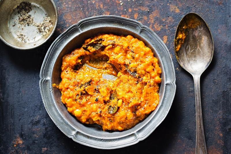 Tarka Dhal Curry royalty free stock image