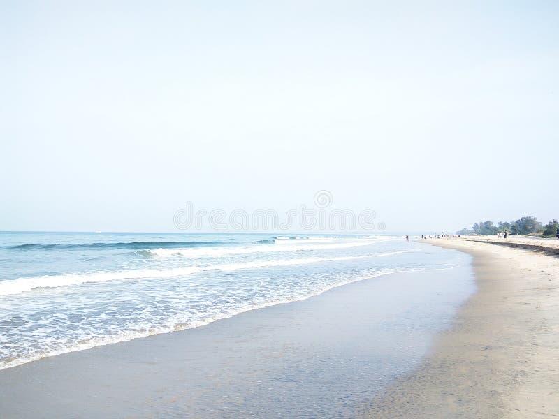 Tarkarli strand royaltyfri bild