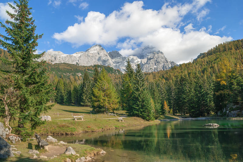 Download Tarn,Filzmoos,Austria stock image. Image of lake, mountain - 35293323