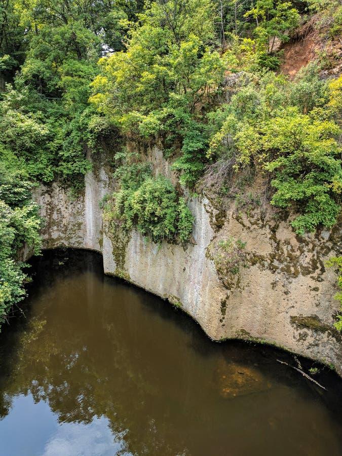 Tarn Megyer-hegy blisko Sarospatak, Węgry zdjęcie royalty free