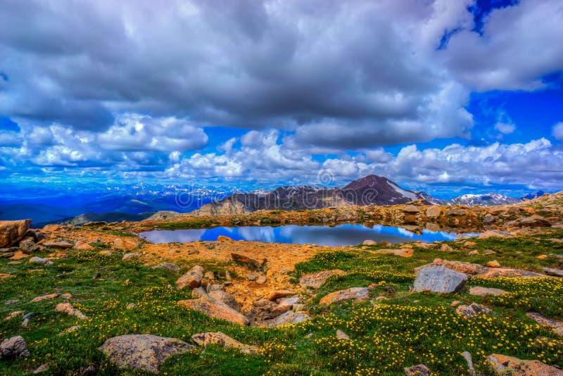 Tarn na Mt wyparowywa zdjęcia stock