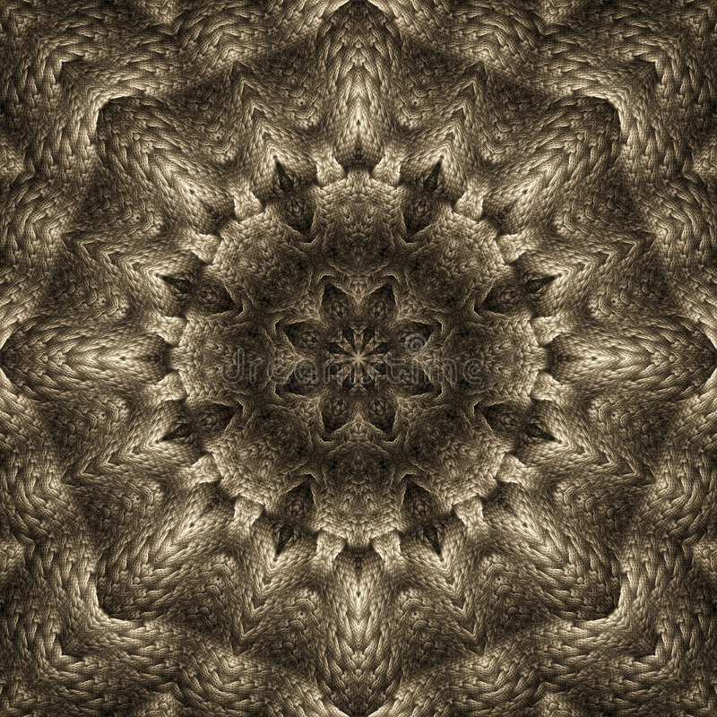 Free Tarnished Silver Star Mandala Stock Photos - 6445313