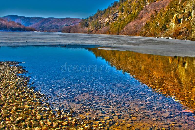 Download Tarnita Lake HDR stock photo. Image of fertile, mirror - 23673738