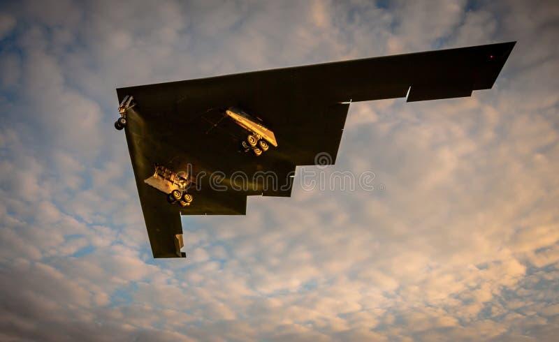 Tarnkappenjägerbomber stockfotos