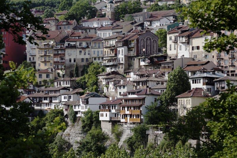 tarnovo城镇veliko视图 库存图片