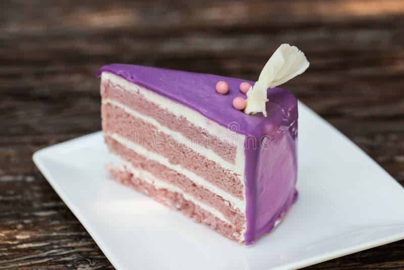 Taro Cake fotografía de archivo