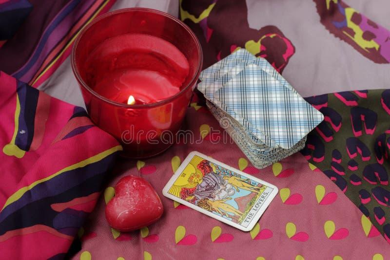 Taro Cards fotografia stock