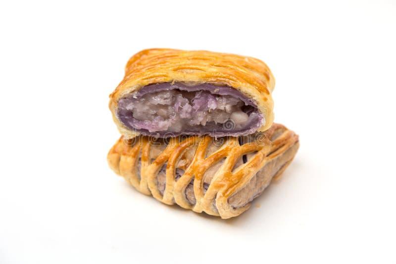 Taro Pie isolerade arkivbild