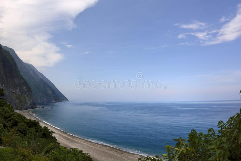 "Taroko峡谷†""在花莲,台湾 库存图片"