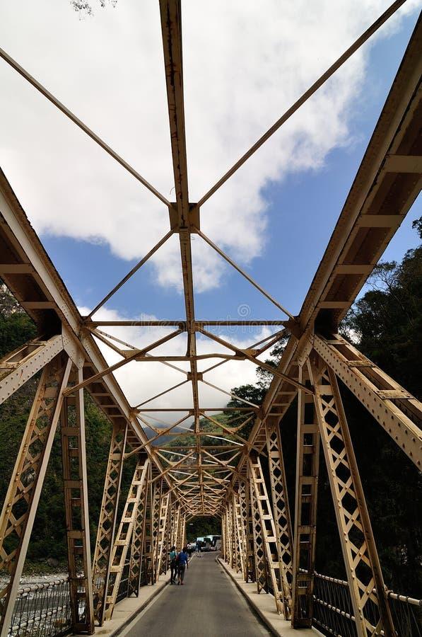 taroko φαραγγιών γεφυρών στοκ εικόνα με δικαίωμα ελεύθερης χρήσης