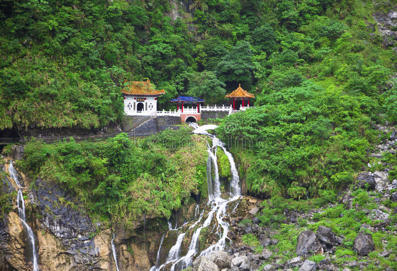 Taroko Nationaal Park. Taiwan royalty-vrije stock fotografie