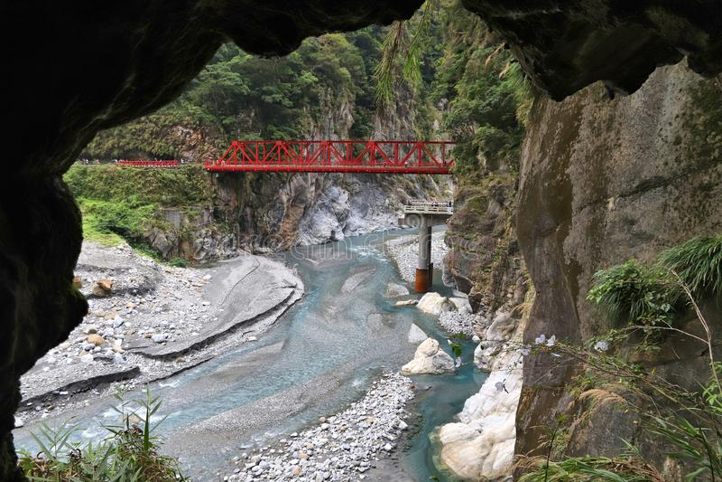 taroko taiwan gorge стоковое фото