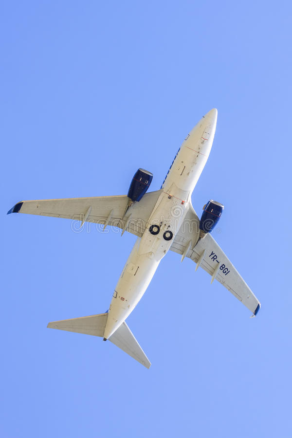 TAROM airplane stock images