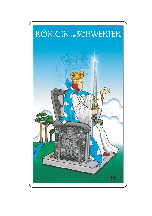 Download Tarot Card stock illustration. Image of mystery, inside - 649901