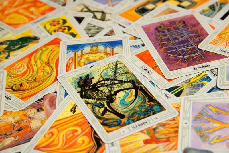 Tarot card Devil. stock photo