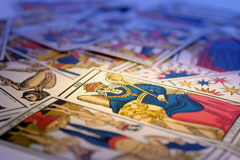 Download Tarot Cards stock image. Image of fortune, shot, clairvoyancy - 19877721