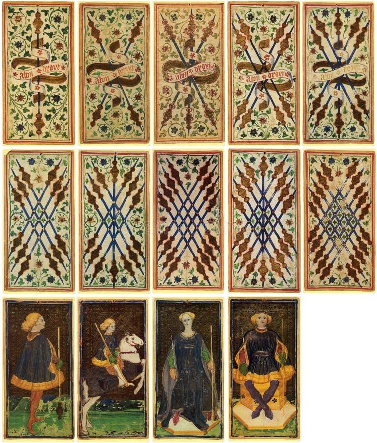 Tarot Cards - Arcanum stock photo