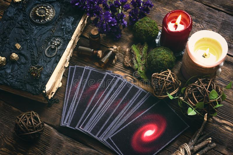 Tarot cards. royalty free stock images