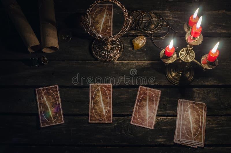 Tarot cards. royalty free stock photo