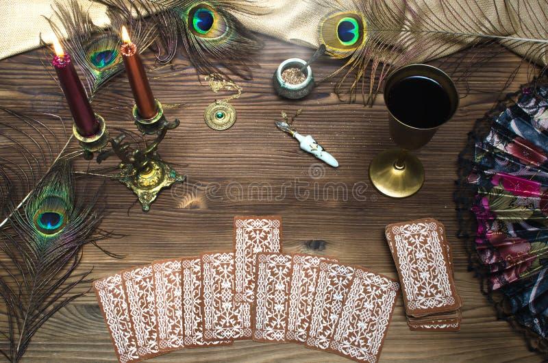 Tarot cards. stock images