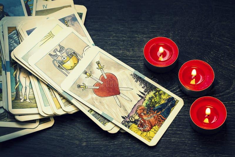 Tarot Cards stock photography