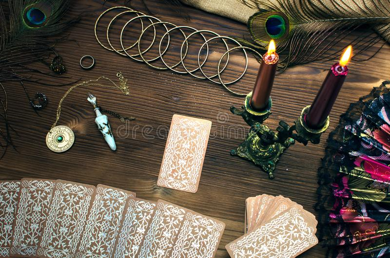 Tarot cards. stock image