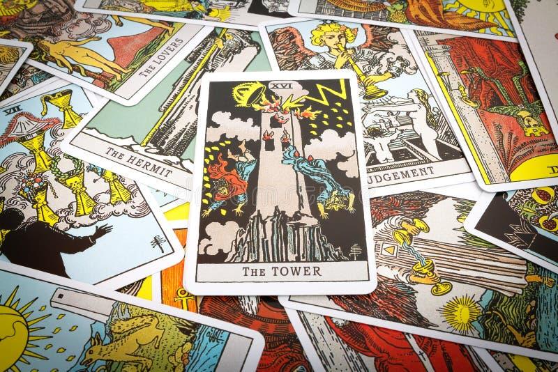 Tarot de cartes de tarot image libre de droits
