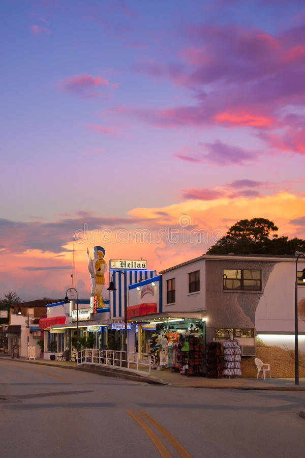 Tarpon Springs Florida fotografia stock libera da diritti
