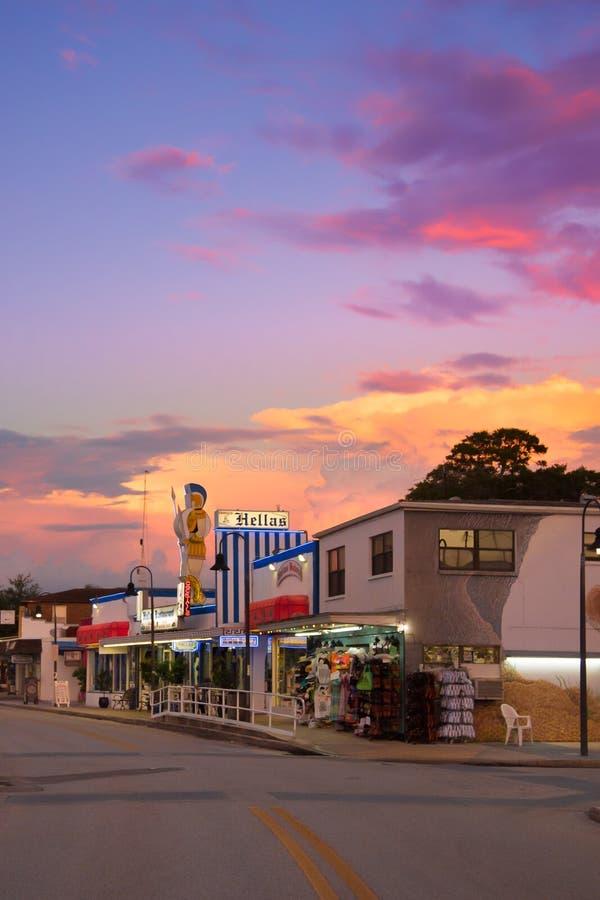 Tarpon Springs la Florida fotografía de archivo libre de regalías