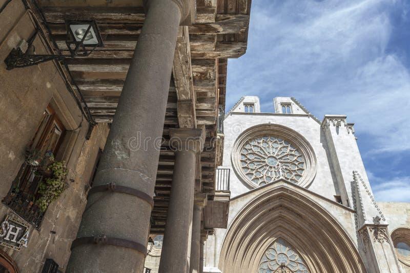 Tarragona Catalonia, Spanien arkivfoto
