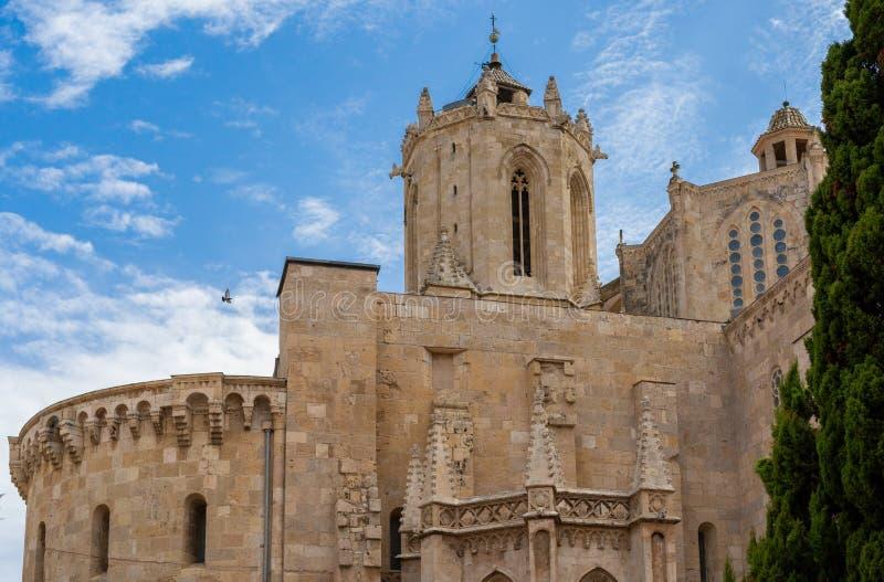 Tarragona Kathedraal, in Catalonië royalty-vrije stock afbeeldingen