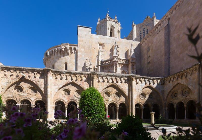 Tarragona Kathedraal van gotisch klooster royalty-vrije stock foto