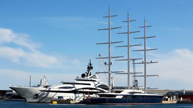 Maltese Falcon super yacht editorial stock image  Image of