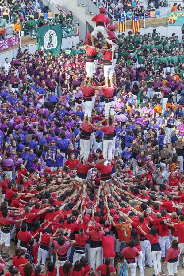 TARRAGONA, SPANIEN - 6. OKTOBER 2012 lizenzfreie stockfotografie
