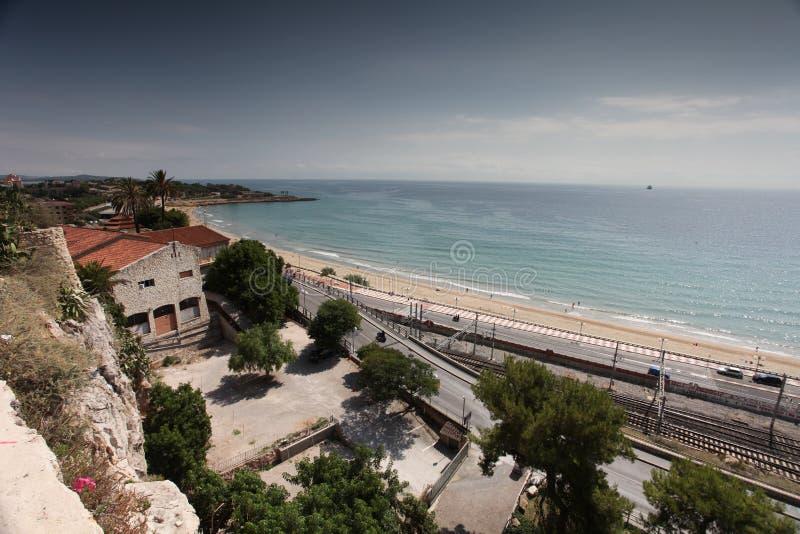 Tarragona-Strand stockbild