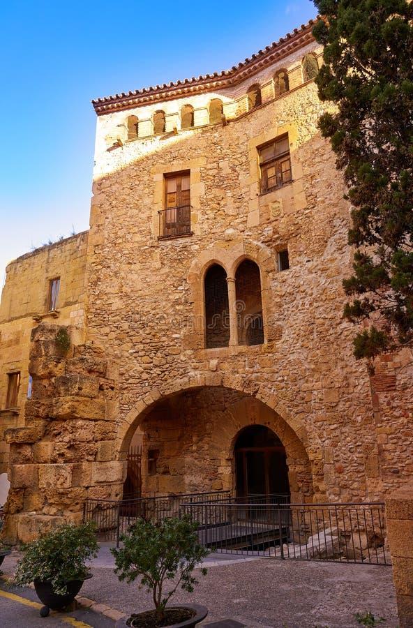 Tarragona Volta del Pallol in Catalonië royalty-vrije stock fotografie