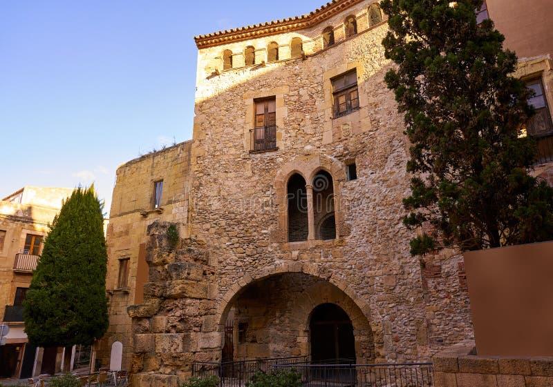 Tarragona Volta del Pallol in Catalonië royalty-vrije stock afbeelding
