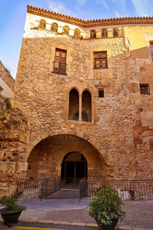Tarragona Volta del Pallol in Cataloni? stock afbeeldingen